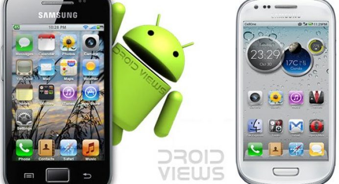 How to get ios look on your samsung galaxy ace galaxy s2 and galaxy