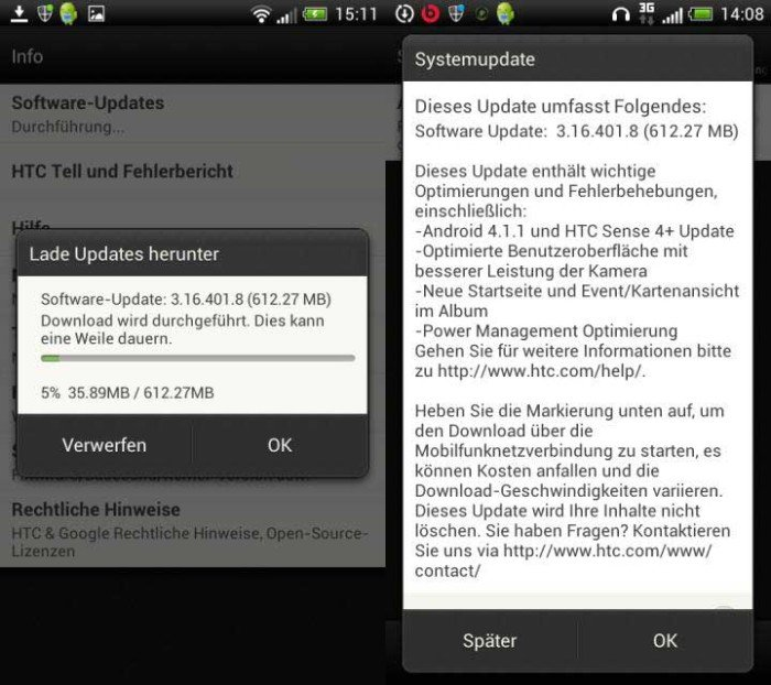HTC One S (Europe) Gets Android 4.1 Jelly Bean
