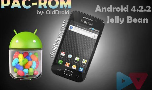 Install PAC-ROM with Android 4.2.2 Jelly Bean on Samsung Galaxy Ace S5830