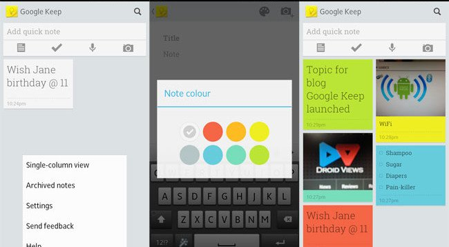 google-keep-android