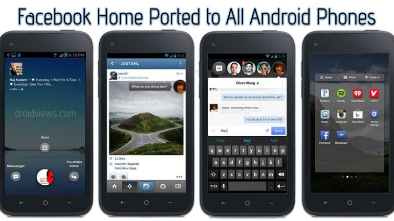 Facebook-Home-Android-App