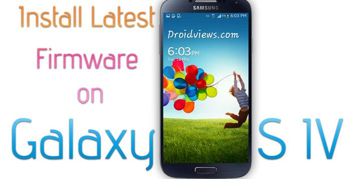 Install Stock Firmware on Galaxy S4