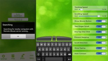Remote Mouse transforms your Android into wireless keyboard and mouse