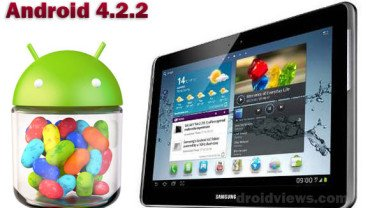 Gt p3100 3g wifi receives android 4 2 2 jelly bean update