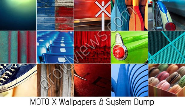 download moto x system dump stock wallpapers and