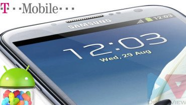 Update T-Mobile Galaxy Note 2 SGH-T889 with Android 4 1 2 Jelly Bean