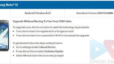 Update US Cellular Galaxy Note 2 SCH-R950 to Android 4 1 2