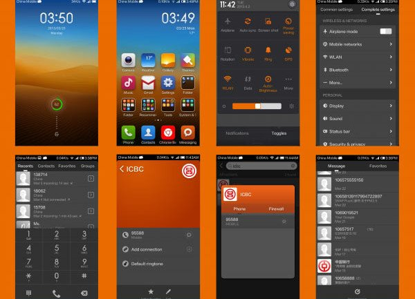 GrayOrange Theme